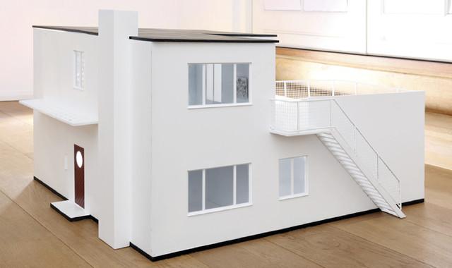 Arne Jacobsen 1:16 Dollhouse - Modern - Kids Toys And Games - by shop2030.hostedshop.dk