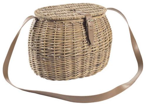Huckleberry Basket - Rustic - Baskets - by Dot & Bo