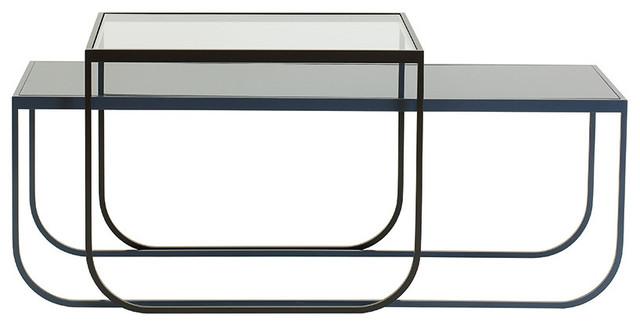 Tati lounge contemporain lot de tables basses par - Table basse tati ...
