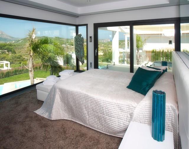 Villa zeus alicante spain mediterranean bedroom - Porcelanosa alicante ...