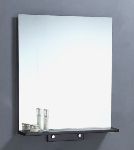 "25"" Vanity Mirror in Espresso Modern Bathroom Mirrors"
