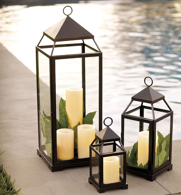 Malta Lantern, Bronze Finish