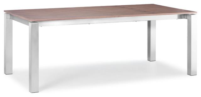 Zuo Modern Copenhagen 79x40 Rectangular Dining Table In