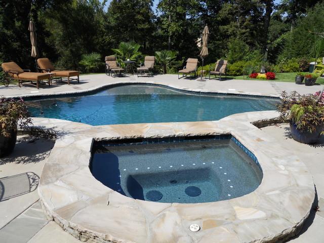 Outdoor oasis pools spas fireplaces loggia etc for Garden oasis pool