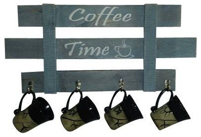 Coffee Mug Rack, Coffee Time, Reclaimed wood, Pallet Wood