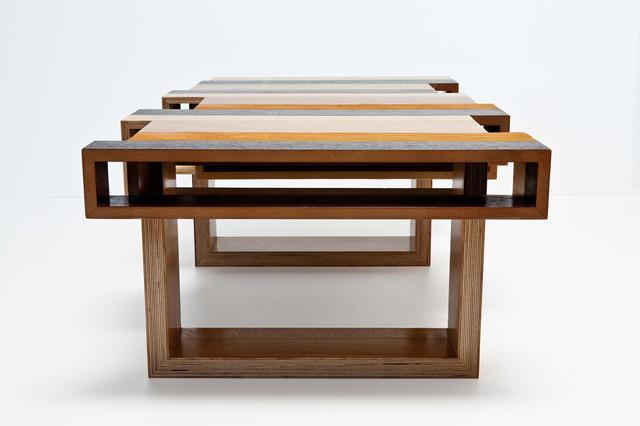 Wood Con Fusion Coffee Tables Tel Aviv By Chissick Design