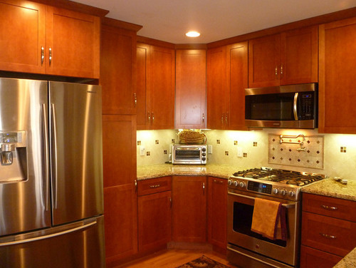 Show me your remodel w 8 ft ceilings for Kitchen cabinets 8 foot ceiling