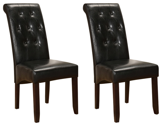 Parson Chairs Set Of 2 Traditional Dining Chairs By 2K Furniture Designs