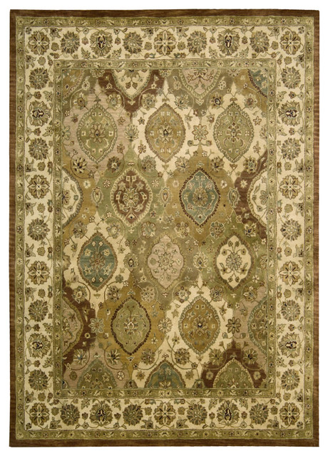 "Nourison Jaipur Multi Traditional Panel 3'9"" x 5'9"" Rug by RugLots ..."