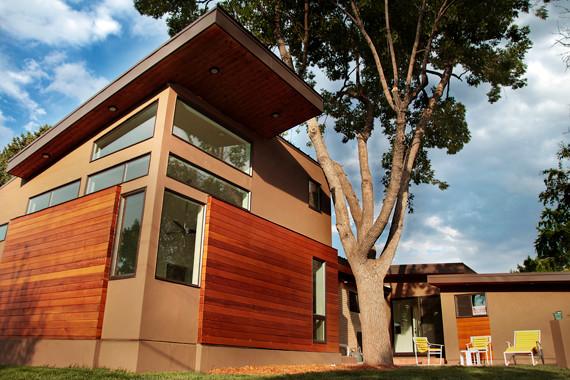 Denver mid century modern renovation for Denver mid century modern