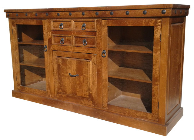 Durango Custom Buffet - Rustic - Buffets And Sideboards - denver - by Mountain High Furniture