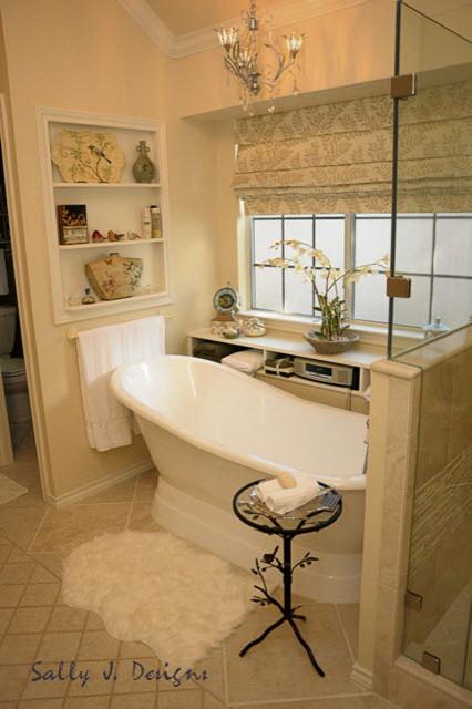 Vintage master bathroom redesign traditional bathroom for Bathroom redesigns