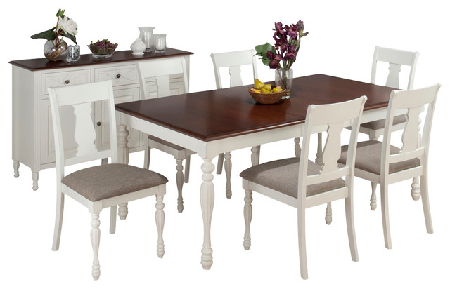 tavern 8 piece butterfly leaf dining room set traditional dining sets