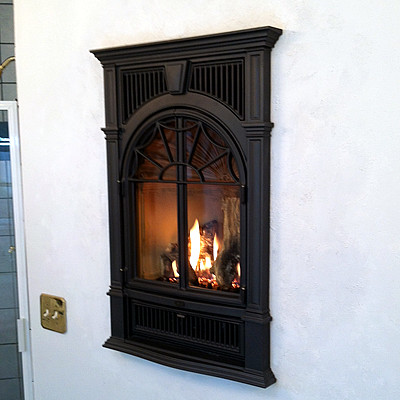 gas fireplace in chattanooga traditional indoor