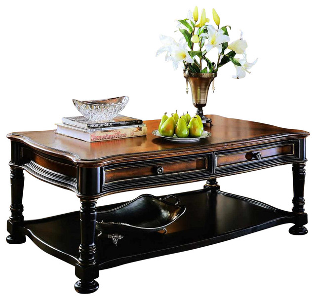 Http Www Houzz Com Photos 37655183 Hooker Furniture Preston Ridge Rectangular Cocktail Table Traditional Coffee Tables