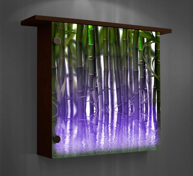Lighted wall decor- color changing lights - Modern - Home Decor - other metro - by Ambiance Design