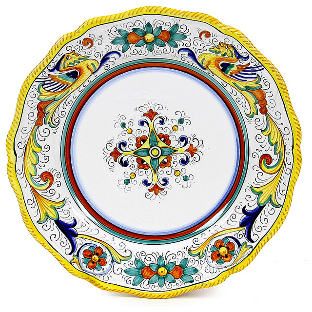 Piatto Mediterranean Kitchen: Raffaellesco, Dinner Plate