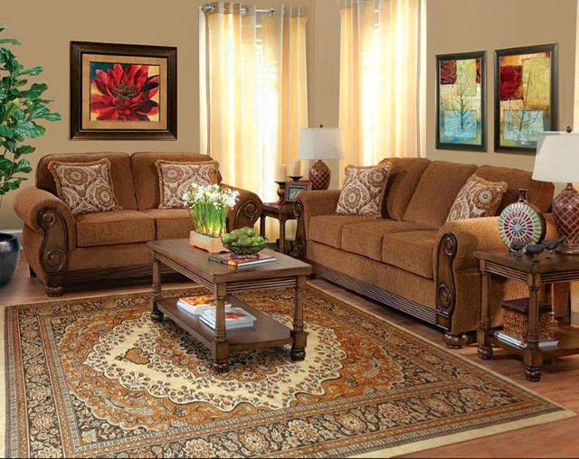 Pick Pocket Brazil Sofa Loveseat Traditional Living Room By Ameri