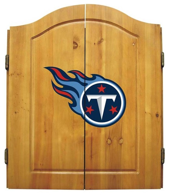 Tennessee Titans NFL Dart Cabinet - Modern - Darts And Dartboards - by Man Cave Kingdom