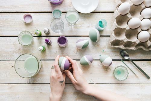 DIY: яйца