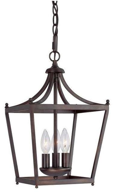 Foyer Chandelier Bronze : Capital lighting bb stanton foyer chandelier