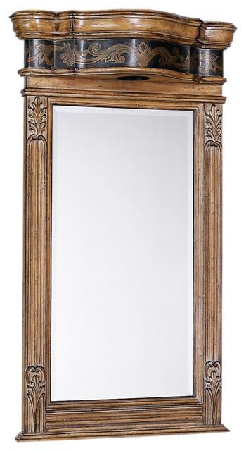 Winslow lighted bathroom mirror traditional bathroom - Traditional bathroom mirror with lights ...