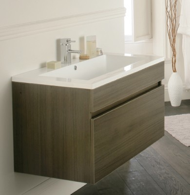 Oviedo 900mm Wall Hung Unit Modern Bathroom Vanity