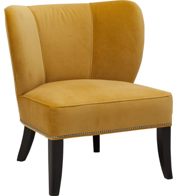 Annie Chair Vance Gold Armchairs And Accent Chairs by