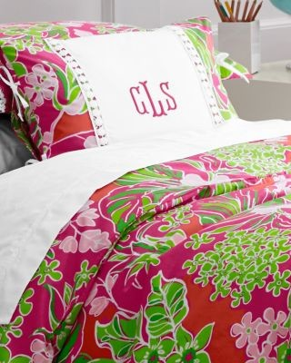 Lilly Pulitzer Sister Florals Percale Comforter Cover