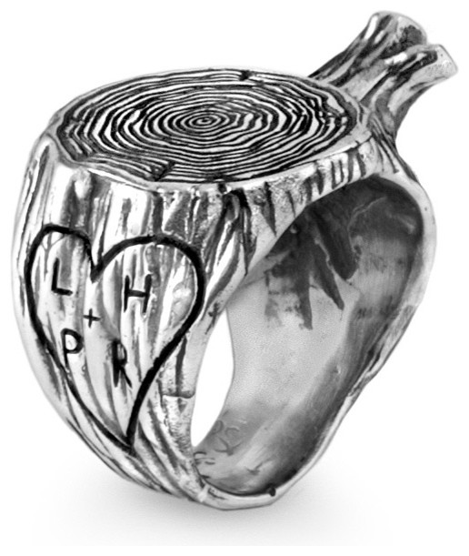 Personalized Stump Ring Eclectic By Uncommongoods