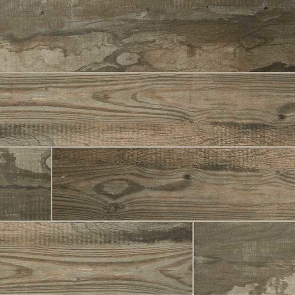 Rustic porcelain floor tile