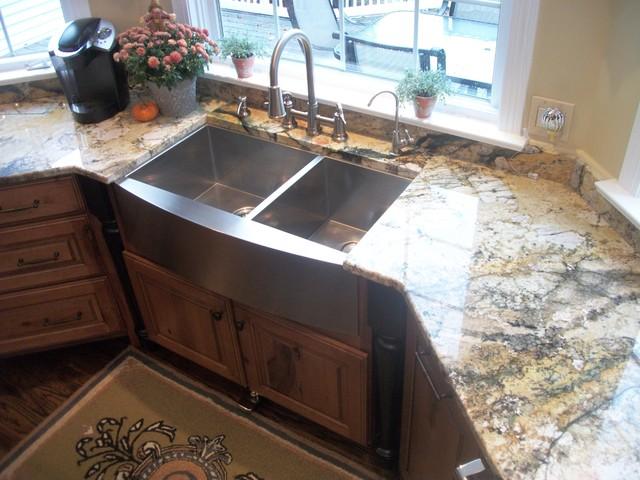 Traditional Kitchen Sinks : Kitchen Renovation, Medina, OH #1 - Traditional - Kitchen Sinks ...
