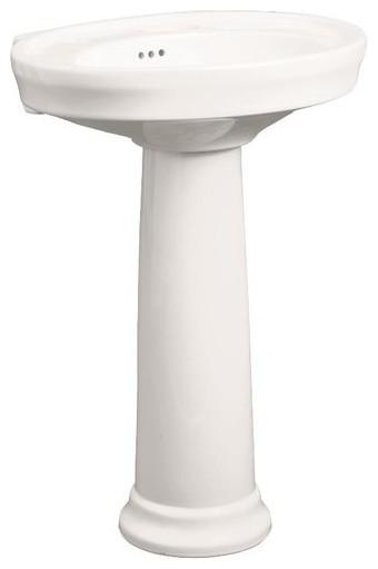 """Mirabelle MIRBR350A Boca Raton 17-1/2"""" High Pedestal Base ..."""