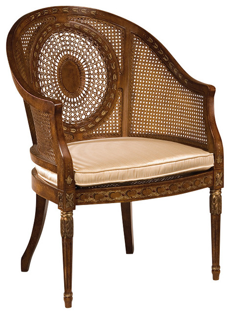 Regency Armchair Traditional Armchairs And Accent