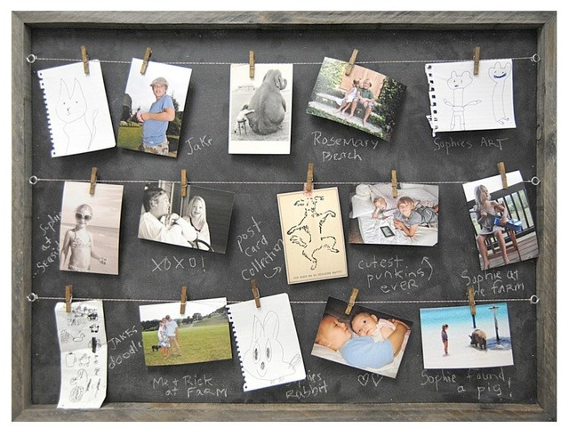 Sugarboo Designs Art Print Memory Board - Contemporary - Bulletin Boards And Chalkboards - by ...