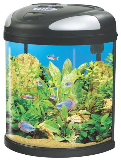 Fish pod moon aquarium 19 or 39 litres contemporary for Fish tank riddle