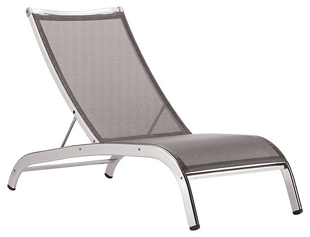 Lucca 39 3 Series 39 Armless Lounge Chair Modern Sun Loungers By De
