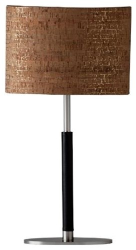 Ziqi Vivid Ethan Table Lamp In Natural/Gold - Contemporary ...