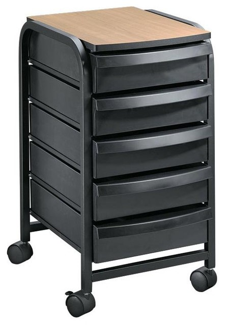 Alvin Taboret/Mobile Organizer - TAB33 - Contemporary - Filing Cabinets - by Hayneedle