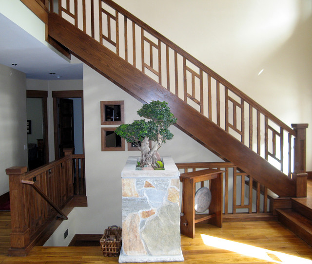 Craftsman Balustrades Salt Lake City By Titan Stairs