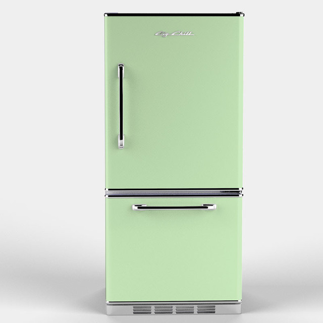 Retropolitan Fridge Jadite Green