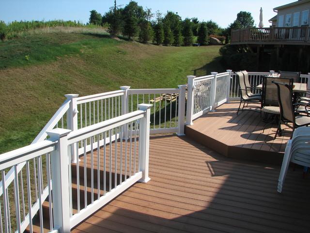 Deck with walkout basement for Deck designs over walkout basement