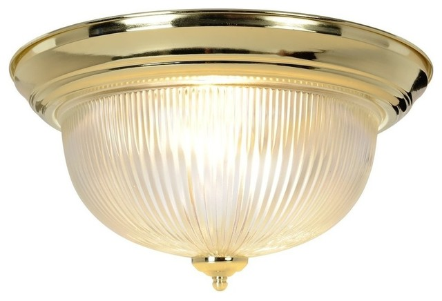 Halophane Dome Ceiling Fixture Polished Brass Modern Bathroom Vanity Lighting By Shop Chimney