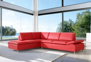 Modum corner lounge with chaise modern sofas for Chaise lounge brisbane
