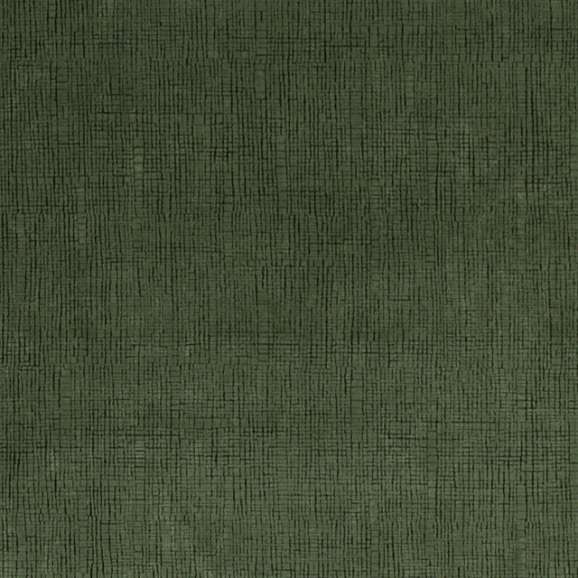 Dark Green Textured Microfiber Stain Resistant Upholstery Fabric By The Yard - Contemporary ...