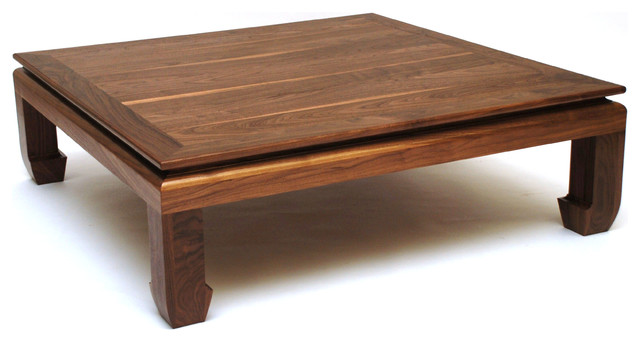 Ming Coffee Table Square Asian Coffee Tables Kansas City By