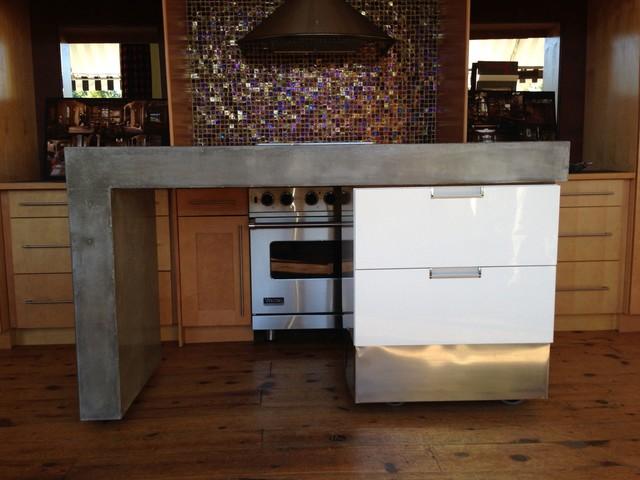 Gallery For Modern Kitchen Island On Wheels