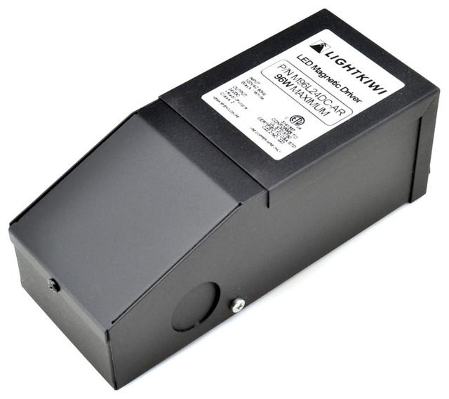 Lightkiwi R5710 96 Watt Dimmable Transformer (24VDC) - Modern - Lighting Hardware - by Lightkiwi