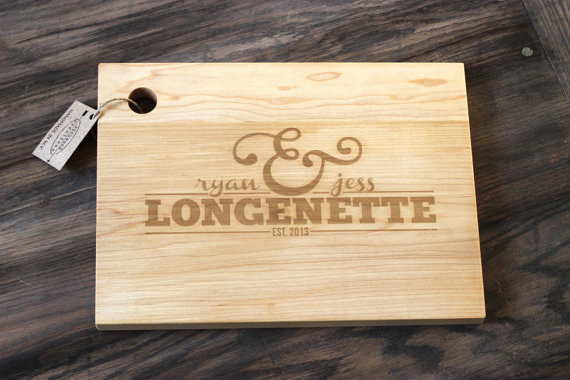 engraved wood cutting board,