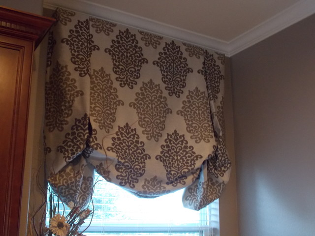 Window Treatments designed by Chic Interiors, LLC.